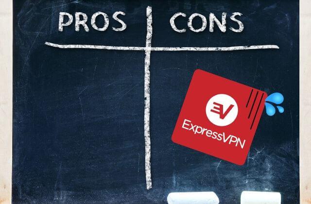 ExpressVPN的缺點