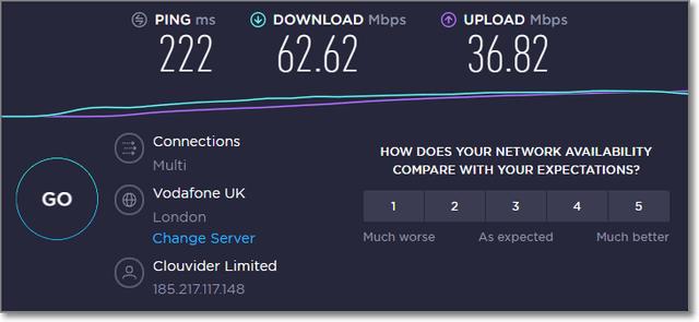 expressvpn英國速度