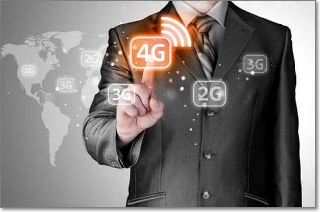 5大電信業者4G頻段