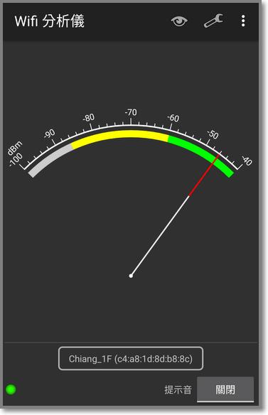 針對單一SSID來偵測家裡每個角落的訊號狀況